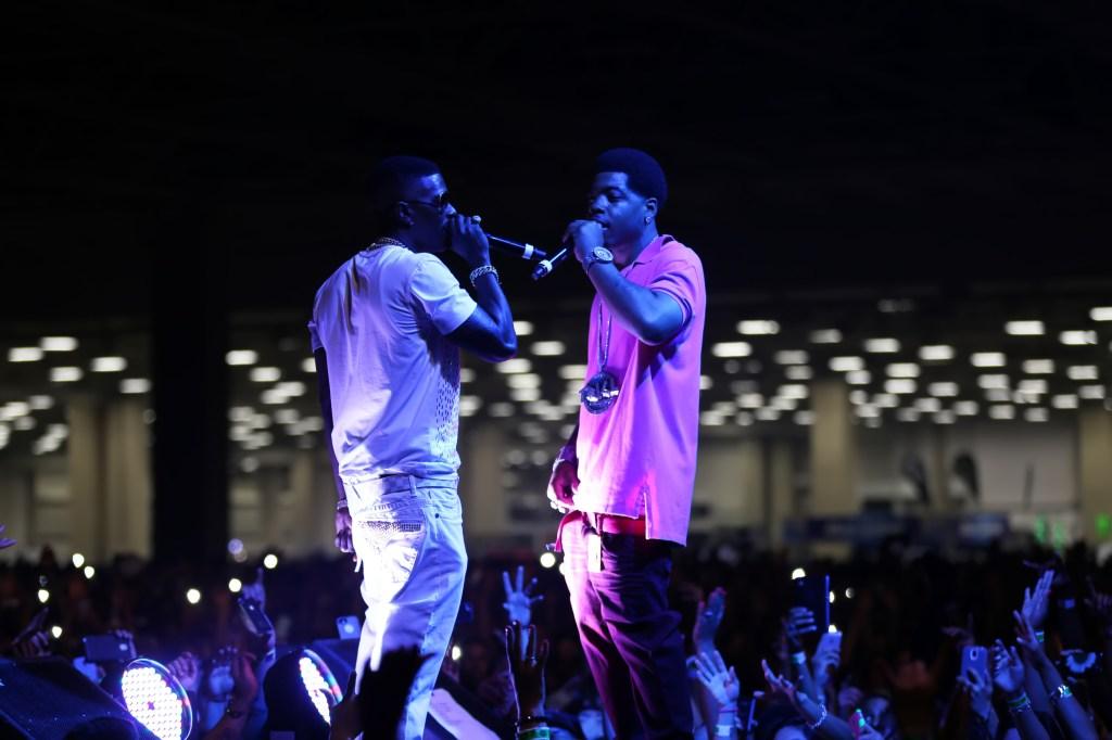 Lil Boosie and Webbie perform