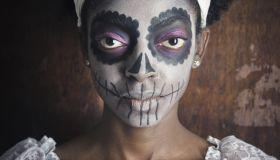 Voodoo Sugar Skull Woman