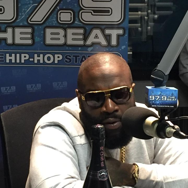 Rick Ross in the Beat Studio