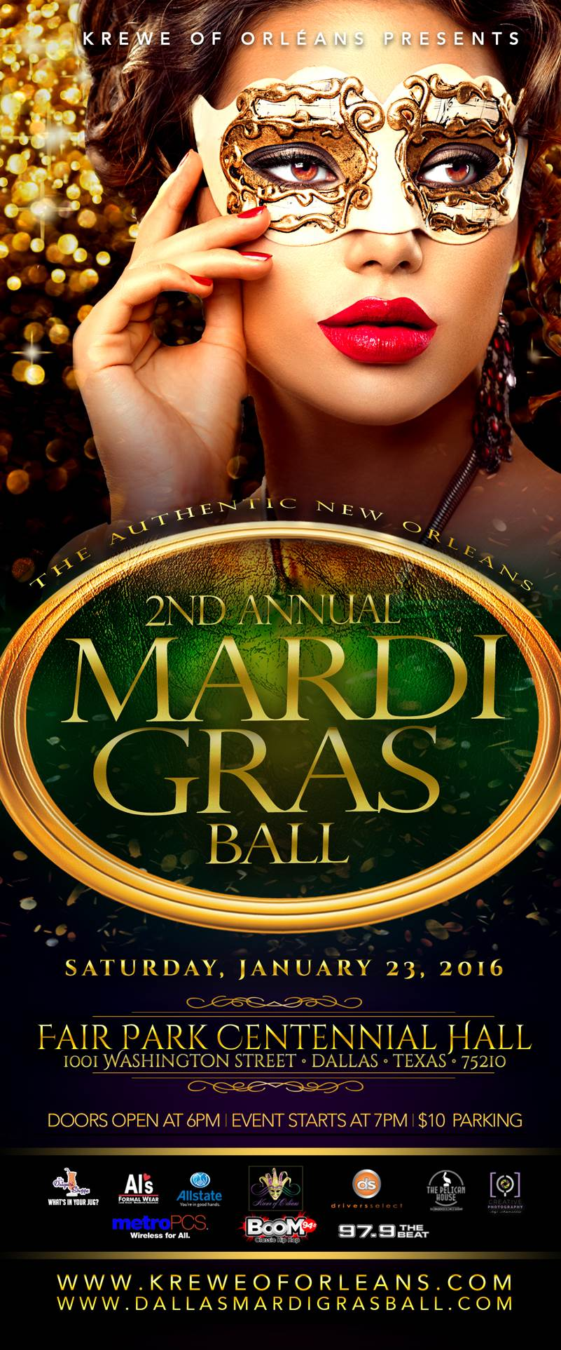 2nd Annual Mardi Gras Ball