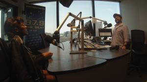 Keke Palmer in Dallas Studios