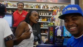 DJ Kayotik Hosts 50 Cent Effen Vodka Bottle Signing