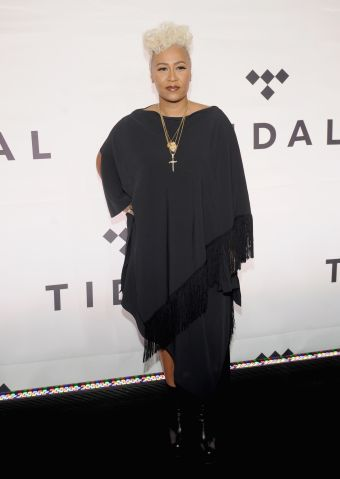 Red carpet celebrity Arrivals for TIDAL X: 1015 concert