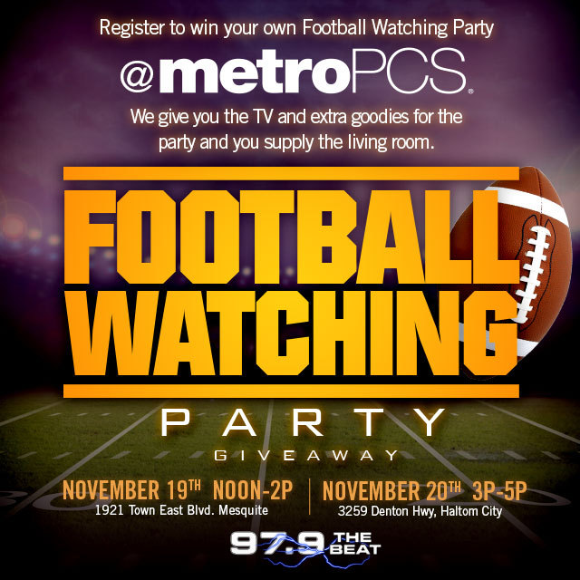 MetroPCS Football Watch Party