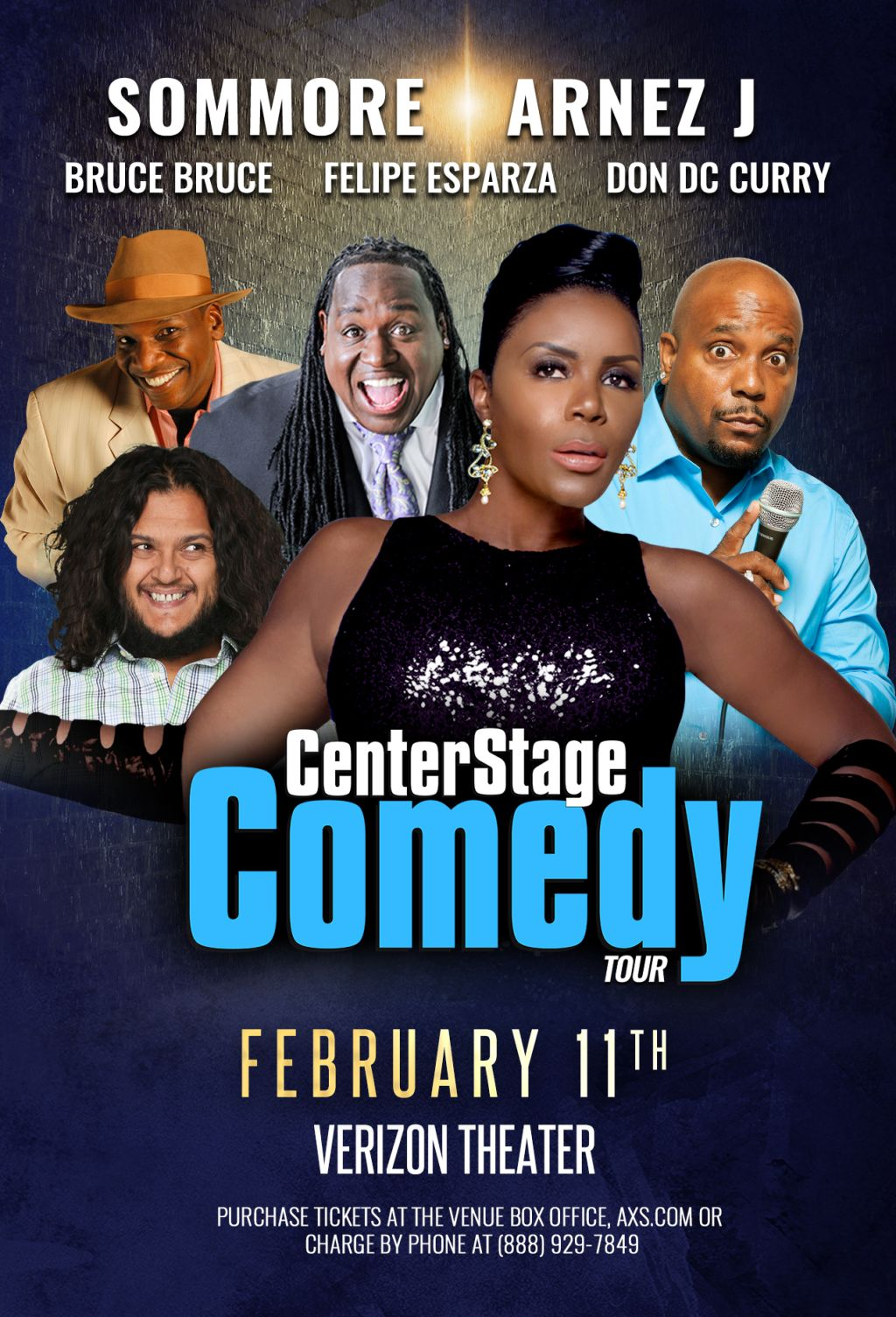 Center Stage Comedy Tour