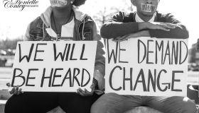 OSU Silent Protest Photos