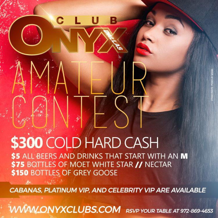 ONYX Dallas Monday