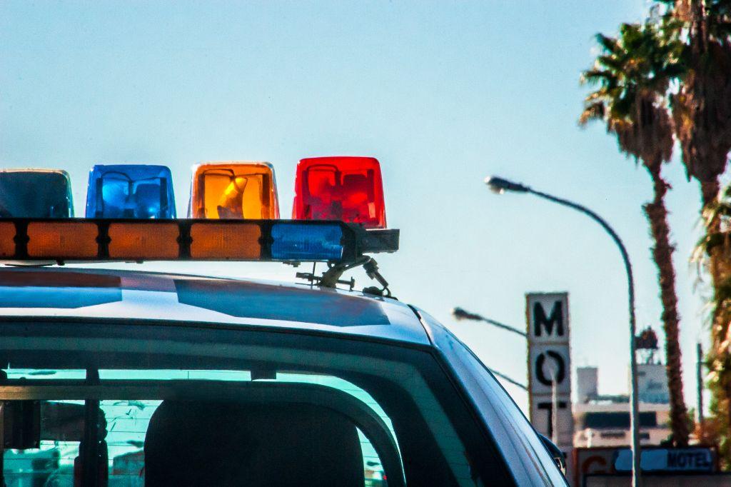 Las Vegas Police car