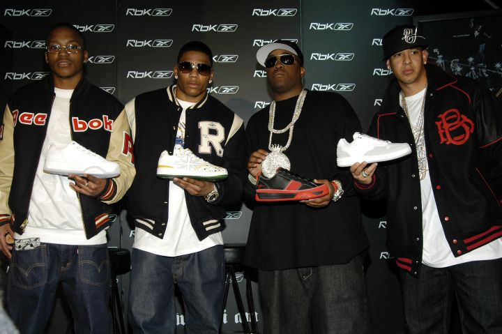 'Reebok Now Playing' Featuring Nelly, Daddy Yankee, Mike Jones and Lupe Fiasco - Press Conference