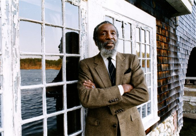 Comedian And Activist Dick Gregory