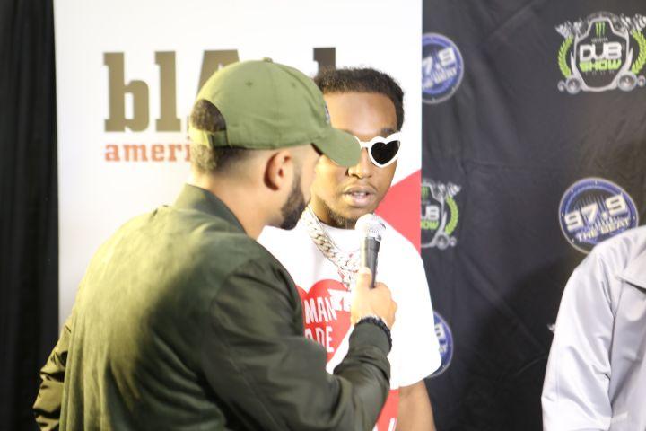 Migos at 97.9 The Beat Dub Car Show 2017