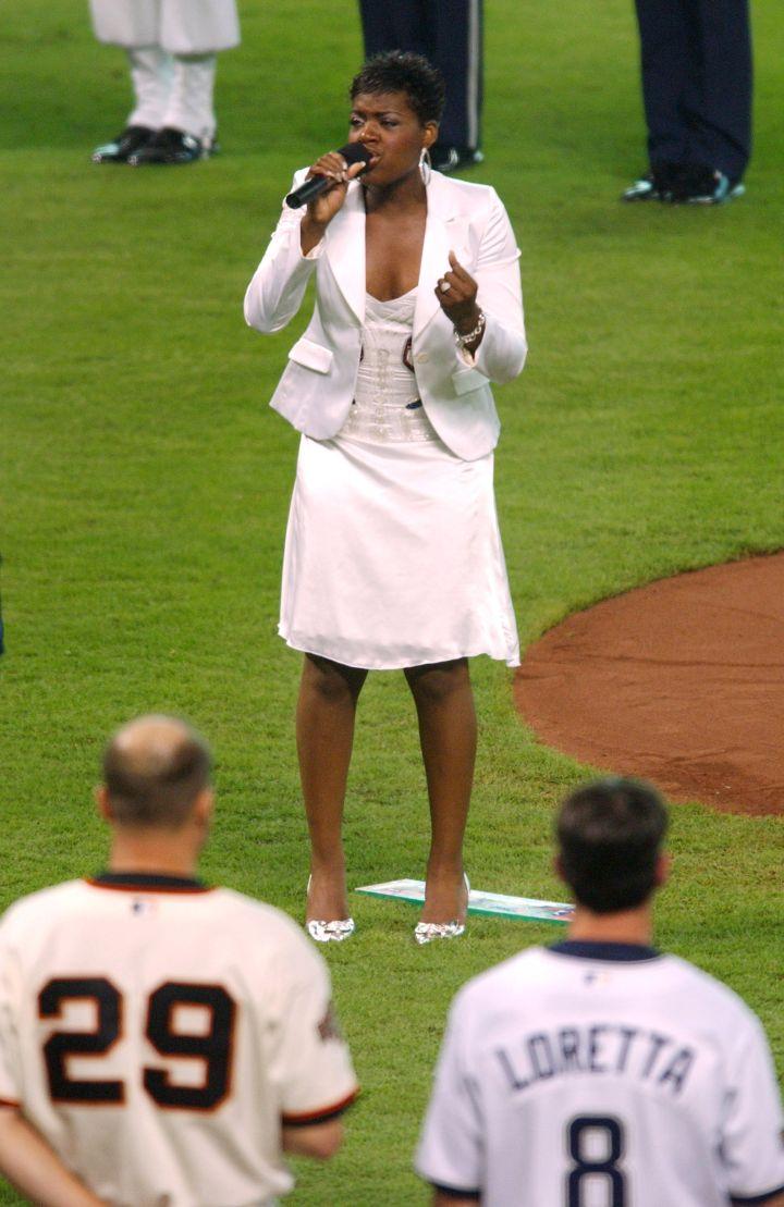Fantasia – 2004 Major League Baseball All-Star Game – July 13, 2004