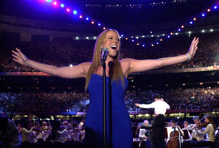 Mariah Carey – Super Bowl XXXVI – Pre-Game Show