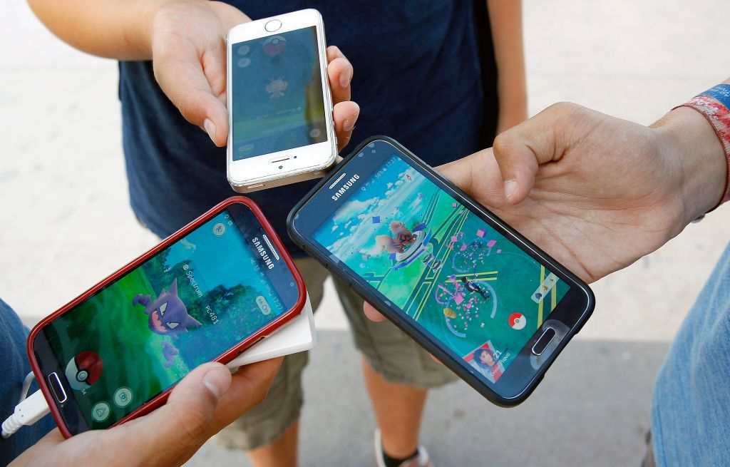 Pokemon Go around Paris