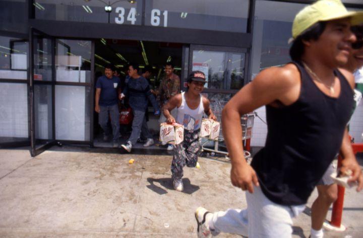 LA Riots in Reaction to the Rodney King Verdict