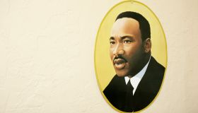 A portrait of Martin Luther King Jr