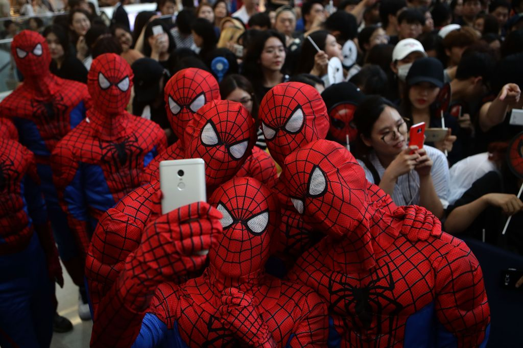 'Spider-Man: Homecoming' Seoul Premiere
