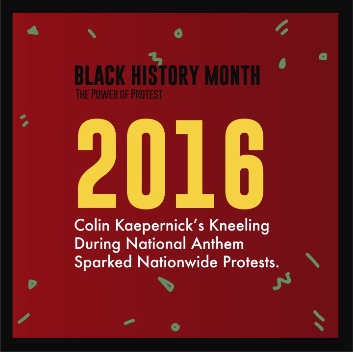 Black History Month Power Of Protest