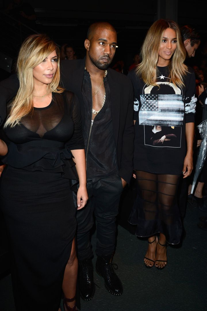 Givenchy: Front Row – Paris Fashion Week Womenswear Spring/Summer 2014