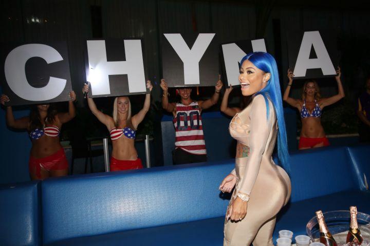 Blac Cyna Hosting