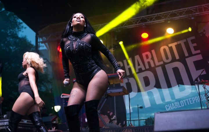 K. Michelle Performs At The Pride Festival - Charlotte, NC