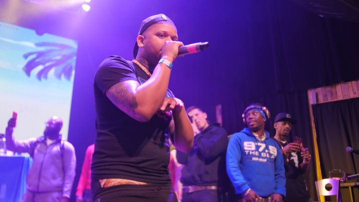 Yella Beezy at 97.9 The Beat's Spring Fest 2018