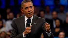 USA - Politics - President Obama Holds LinkedIn Town Hall Meeting