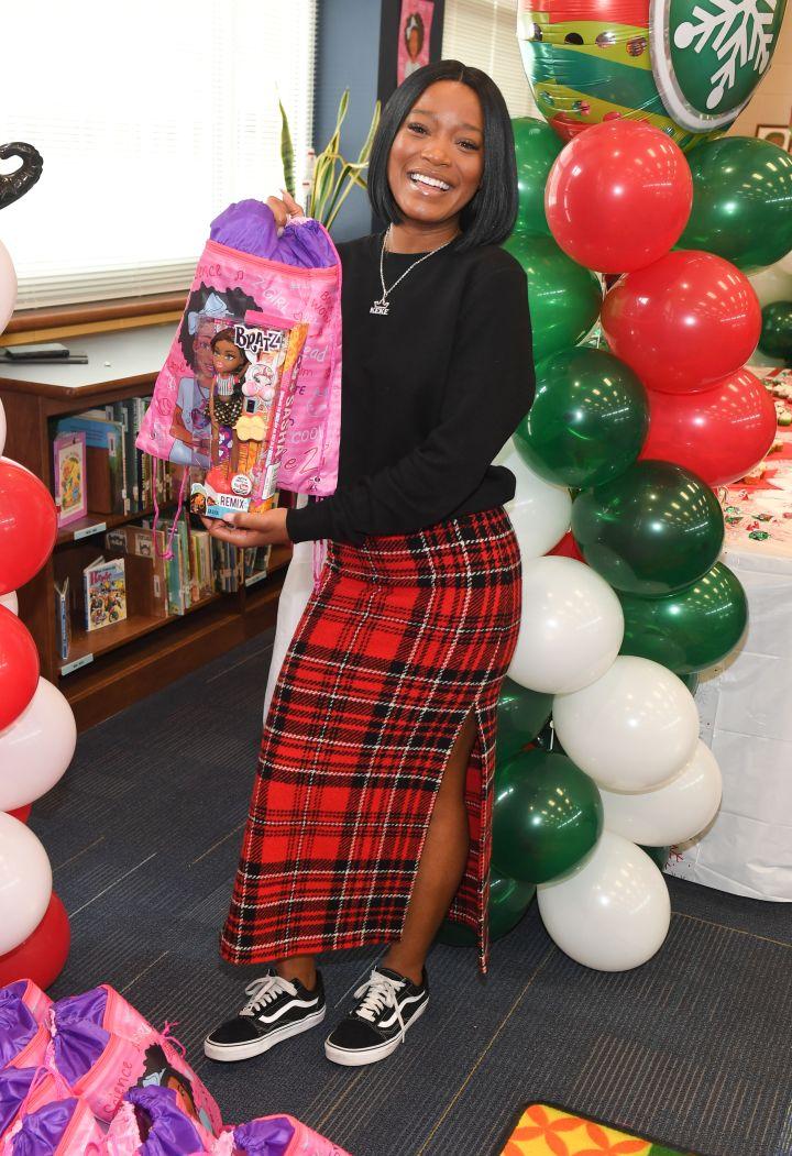 Keke Palmer & Saving Our Daughters Holiday Doll Giveaway