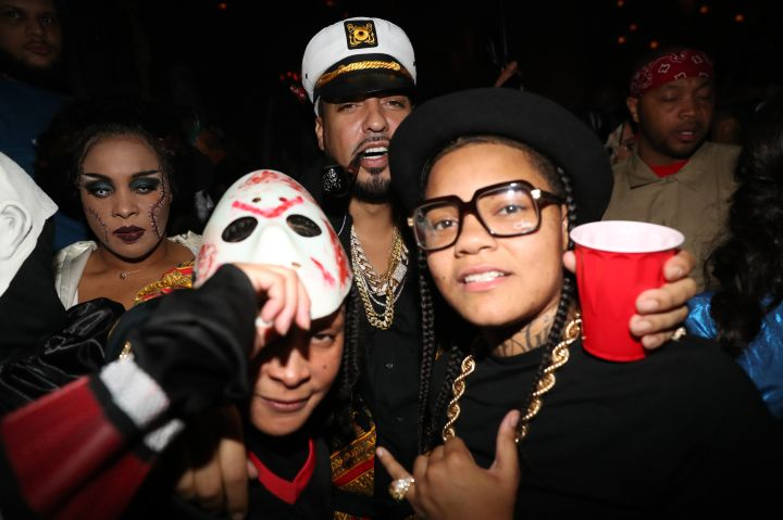 Lenny S. & LaLa Anthony Halloween Party
