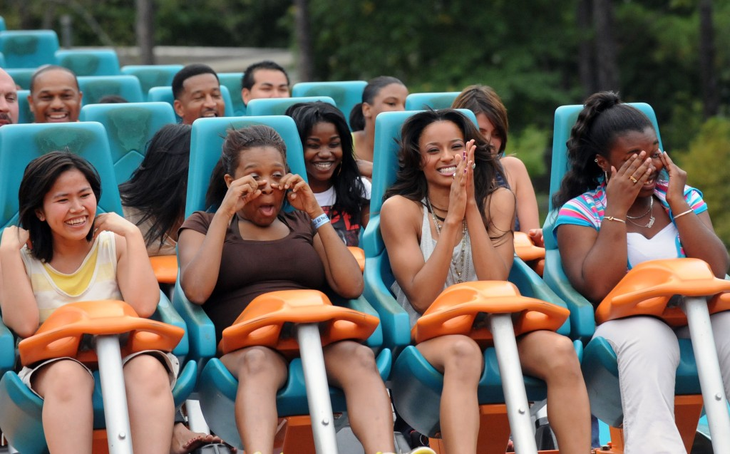 Ciara Takes Over Six Flags - Goliath Renamed 'Fantasy Ride' In Her Honor