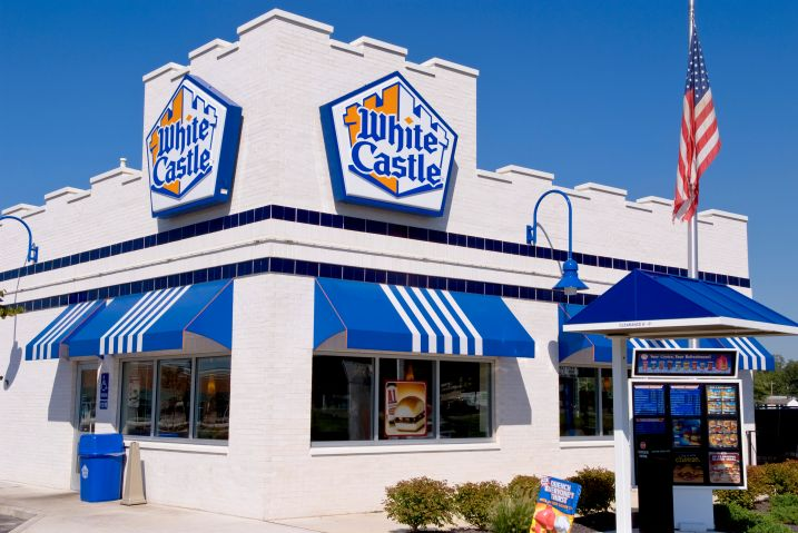 White Castle Hamburger Restaurant, Columbus, Ohio.
