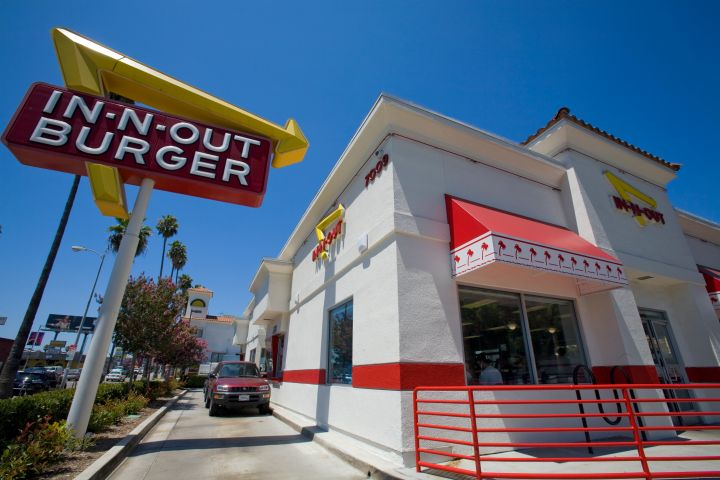 In-n-Out Burger, Hollywood