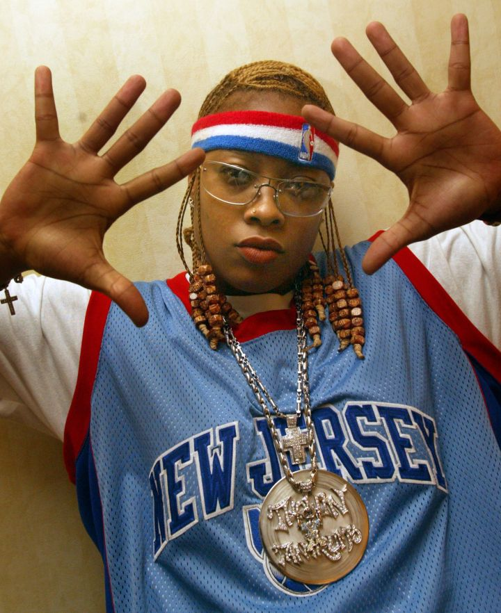 Shawntae Harris aka Da Brat became the first platinum–selling female rapper and also co–stars in the