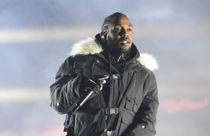 Kendrick Lamar Performs During Half Time For The 2018 College Football Playoff National Championship Game