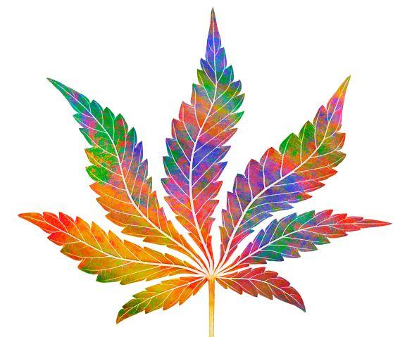 Cannabis leaf design