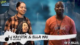 Ella Mai and DJ Kayotik