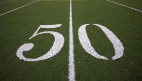 50 yard line football field