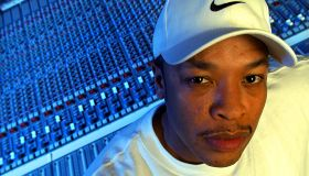 DR. DRE, rap producer, working on a new album inside his studio, Record One in Sherman Oaks, Feb. 12