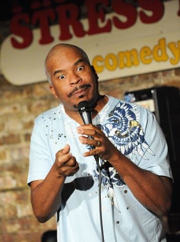 David Alan Grier Performs At The Stress Factory Comedy Club - June 4, 2009