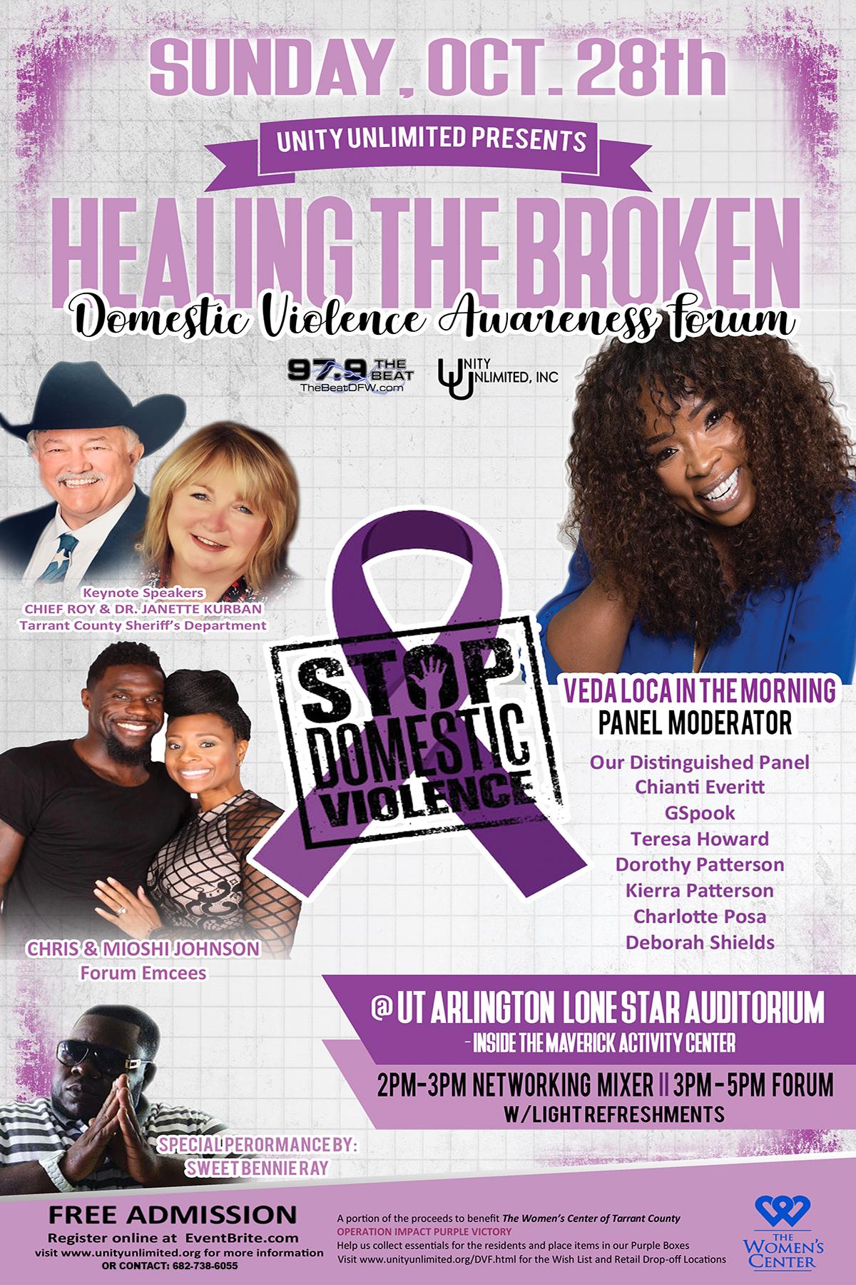 Domestic Violence Healing The Broken