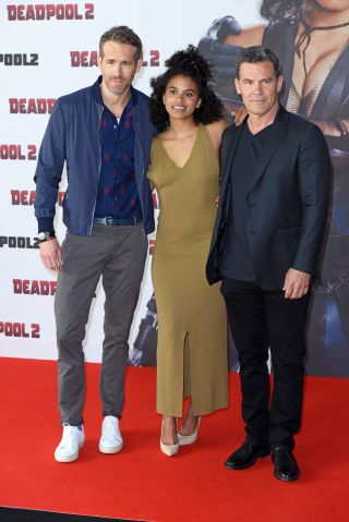The cast of 'Deadpool 2' promoting their movie