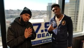 Fredo Bang at 97.9 The Beat