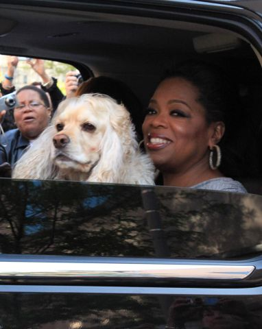 Oprah Winfrey Leaves Her Studio After Her Final Taping