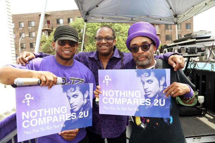 Spike Lee & Sway Host The Prince Born Day Purple People Party