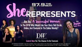 She Represents - Contest_KBFB_Dallas_RD_ January 2019