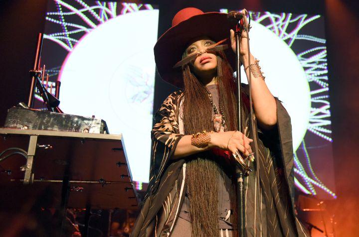Erykah Badu Performs At The Warfield