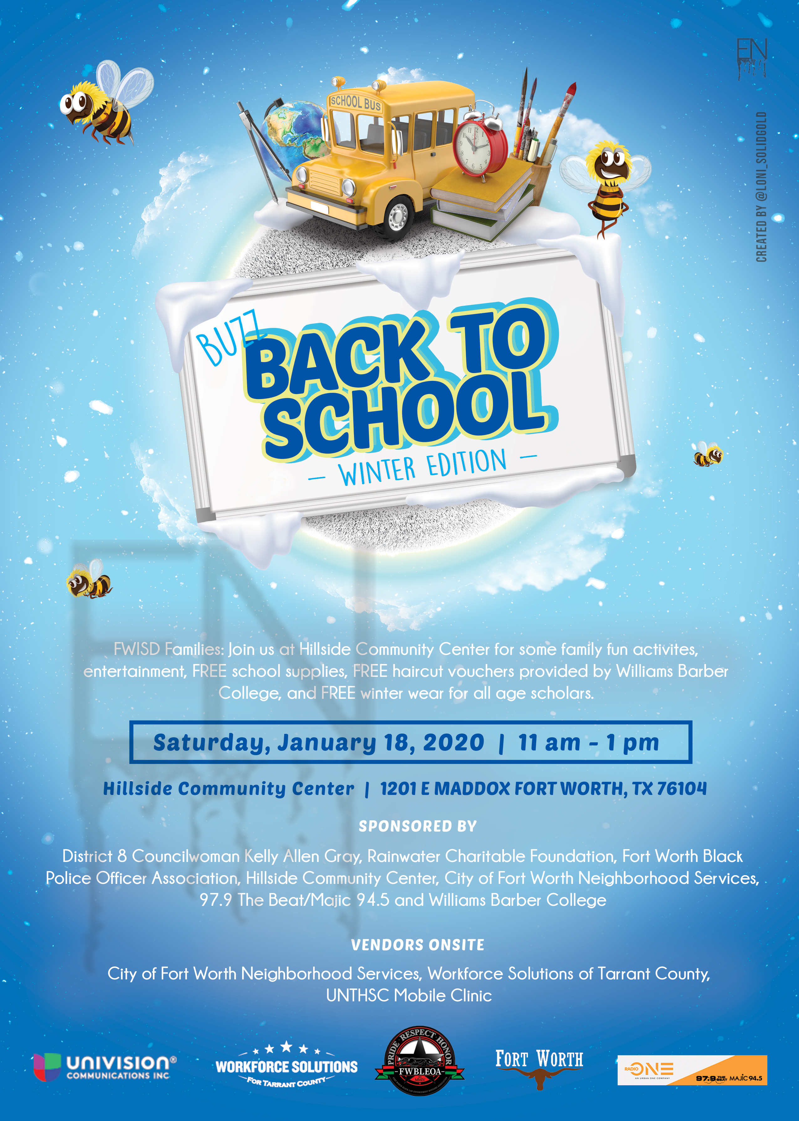 Buzz Back To School Winter Edition