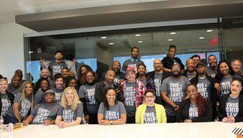 Radio One Dallas St. Jude Radiothon/ Staff Meeting