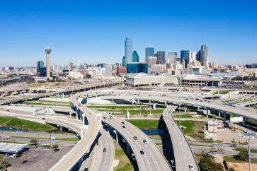 Dallas Skyline from South Dallas