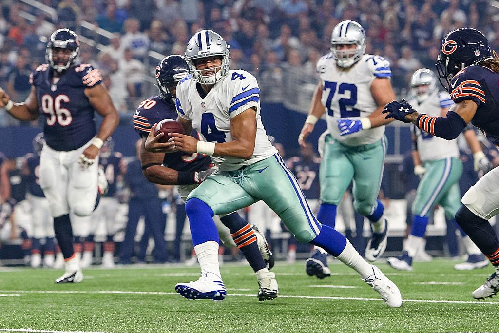 NFL: SEP 25 Bears at Cowboys